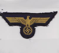 Uniform Removed Navy Breast Eagle