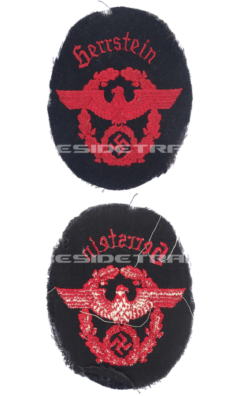 """Fire Protection Police """"Herrstein"""" Sleeve Eagle"""