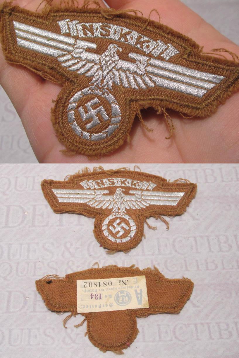 Tagged NSKK Sleeve Eagle