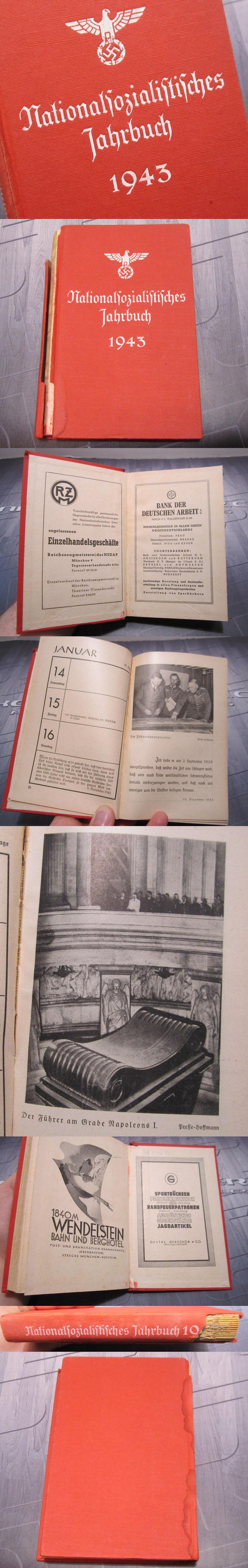 NSDAP Members Yearbook 1943