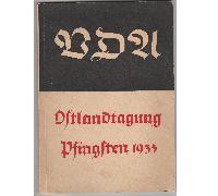 Ostlandtagung des VDA Pfingsten 1935