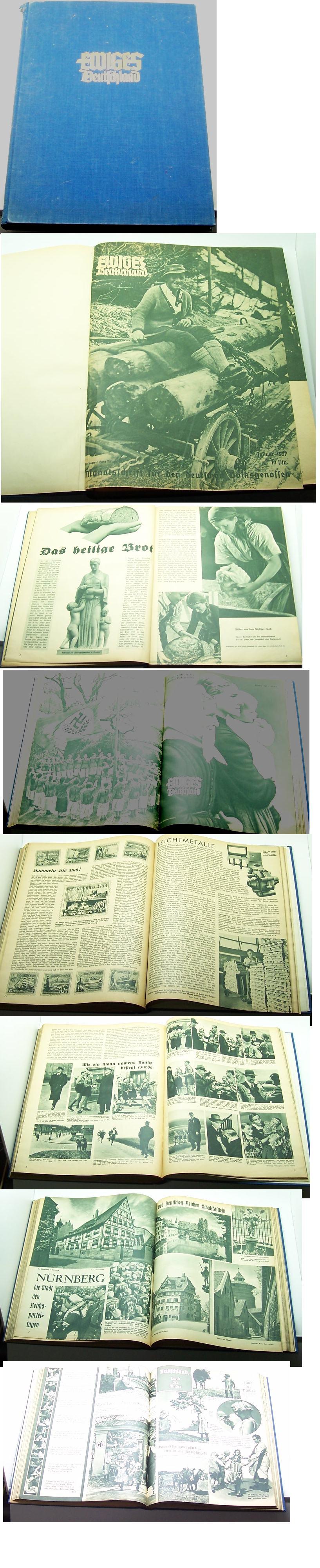 1937 Ewiges Deutschland Illustrated Magazine
