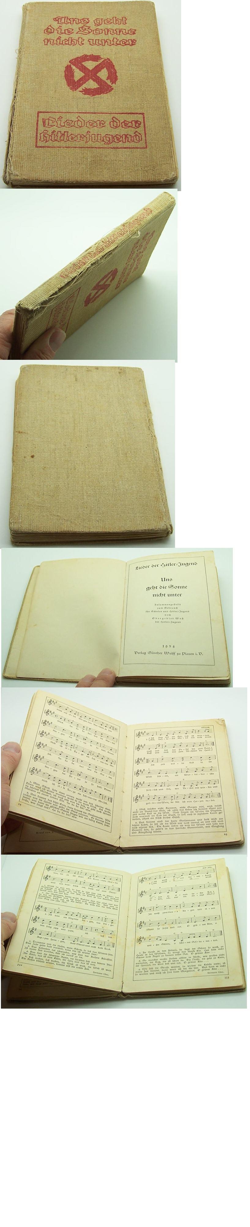 HJ Songbook Lieder der Hitlerjugend