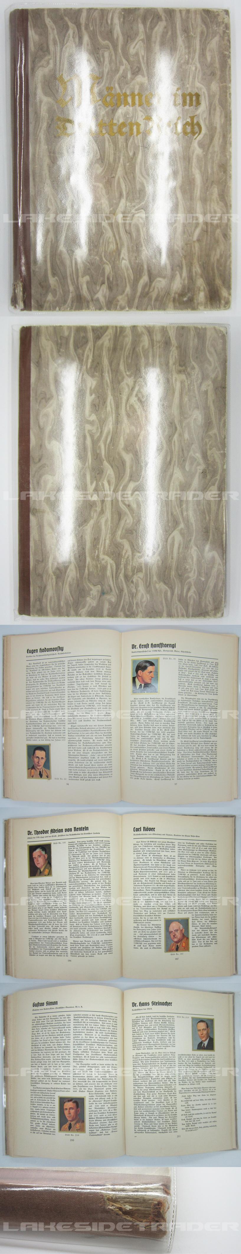 """""""Männer im Dritten Reich"""" Cigarette Card Album"""