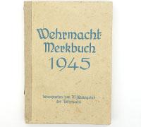 Wehrmacht Merkbuch 1945