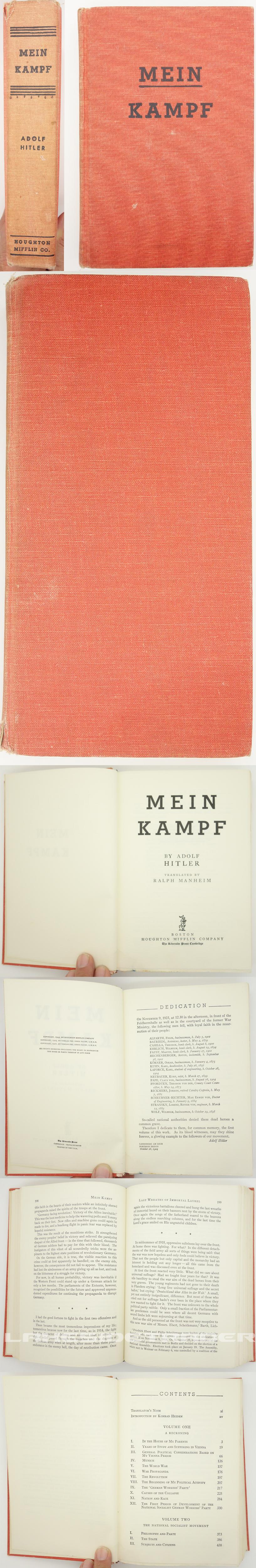 Mein Kampf 1943 English Version
