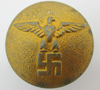 NSDAP Political Uniform Button by Assmann
