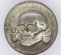 SS/VT Totenkopf Cap Button