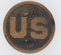 US Army Enlisted Collar Disk