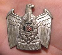 Veterans NSKOV Visor Cap Eagle