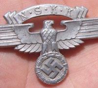 NSKK Service Visor Cap Eagle
