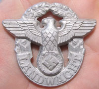Rural Landwacht Police Cap Badge