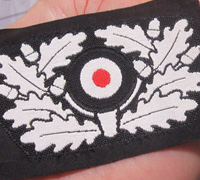 Panzer Beret Wreath and Cockade