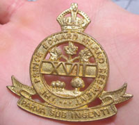 The Prince Edward Island Regiment Cap Badge