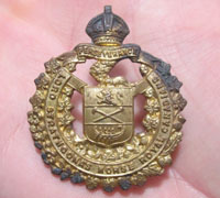 Royal Canadian Cap Badge