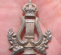 "Bandsmen ""?lyre' Badge"