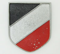 Pith Tri-Color Shield by Adolf Scholze