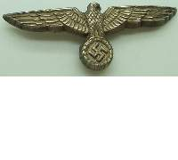 Early Army Visor Eagle