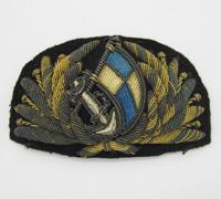 Officer Merchant Navy Cap Badge