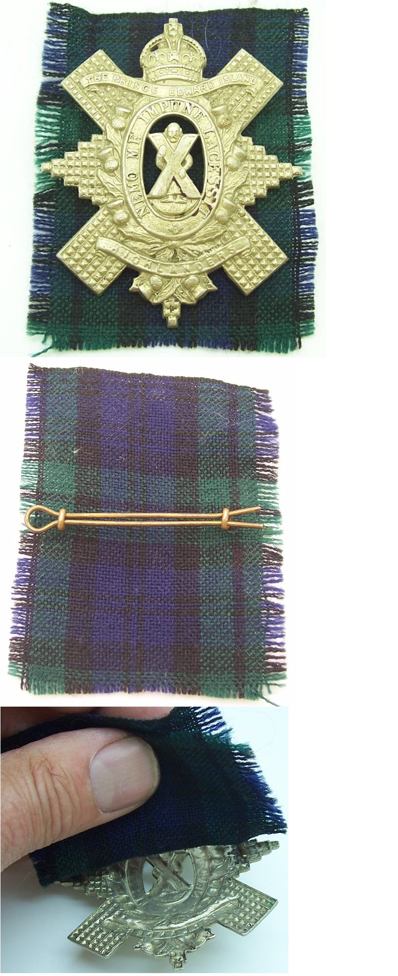 Prince Edward Island Highlanders Cap Badge