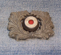 Customs Visor Wreath and Cockade