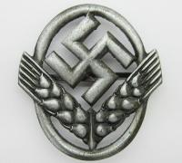 Silver RADwJ Fedora Cap Badge by D 1941