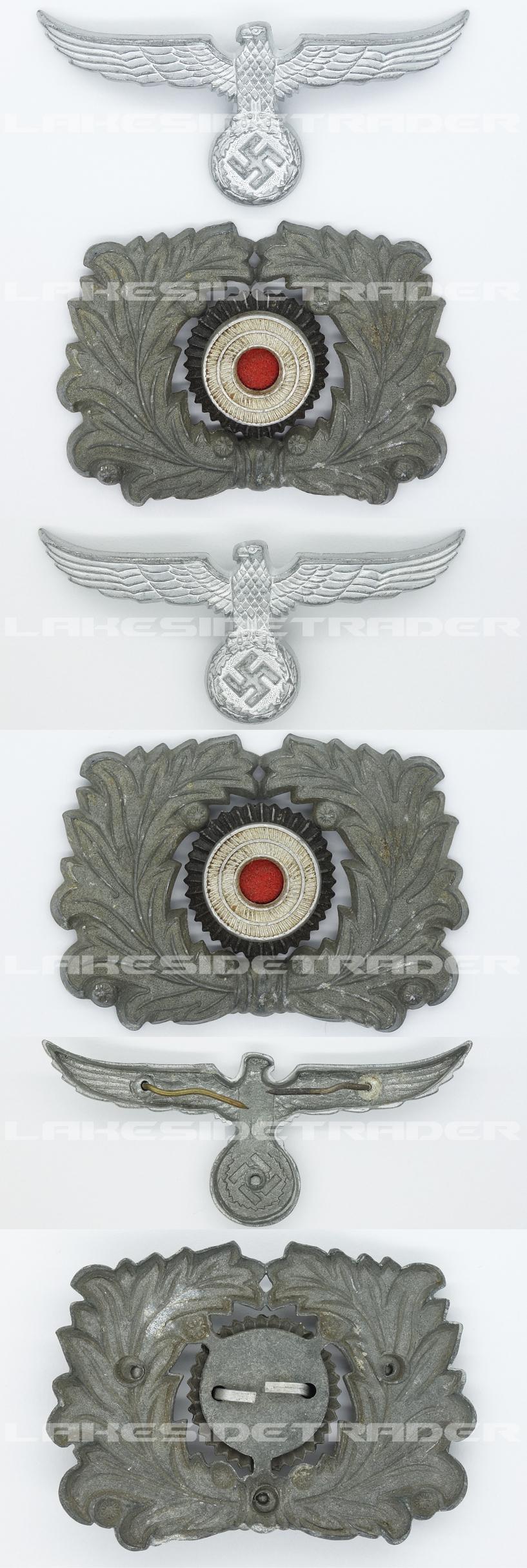 Customs Visor Cap Eagle and Cockade