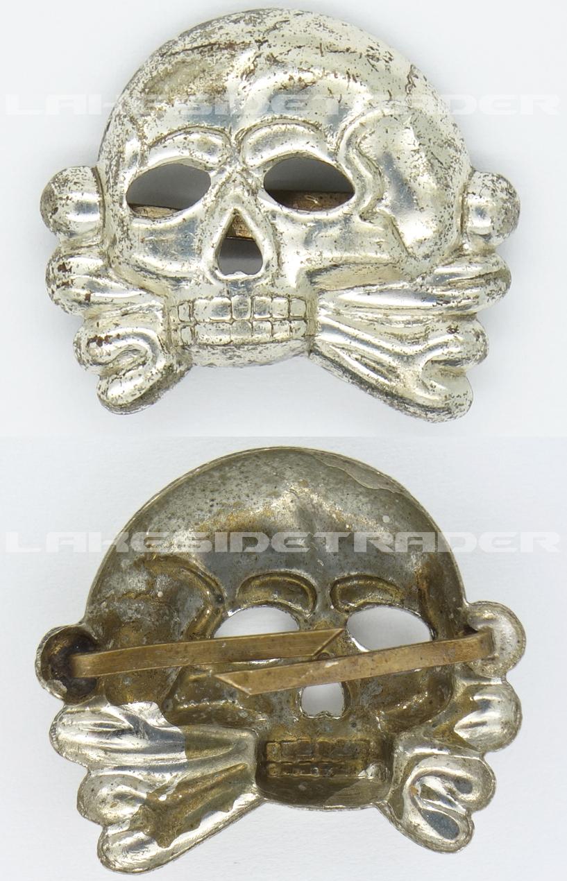 Allgemeine SS Kepi/Visor Cap Skull