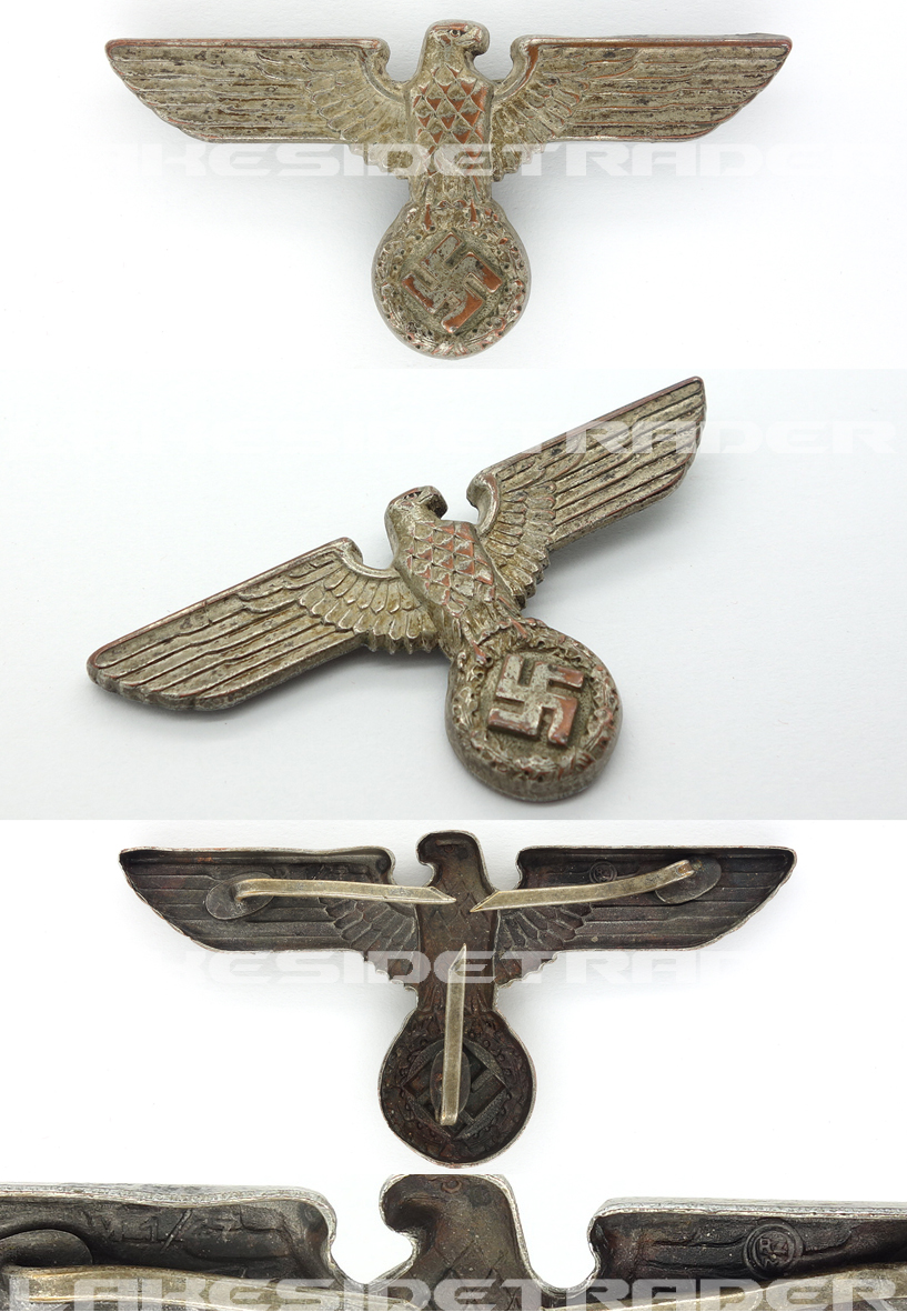 NSDAP Political Visor Cap Eagle by RZM M1/47