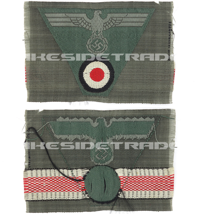 Army M43 EM/NCO Eagle/Cockade Cap Insignia