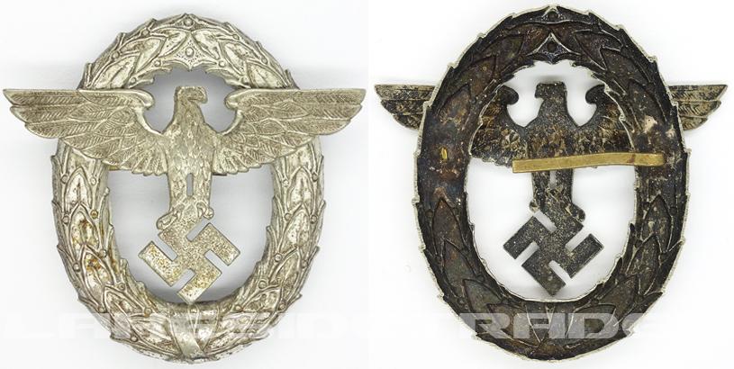 Police 1st Pattern Visor Cap Eagle