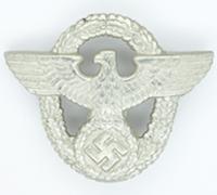 Police Visor Cap Badge by OGL