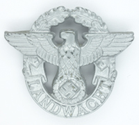 "Rural  ""Landwacht"" Police Visor Cap Eagle"