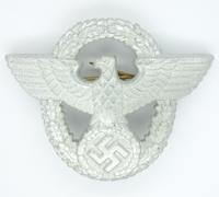 Police Cap Badge by F.K.S.