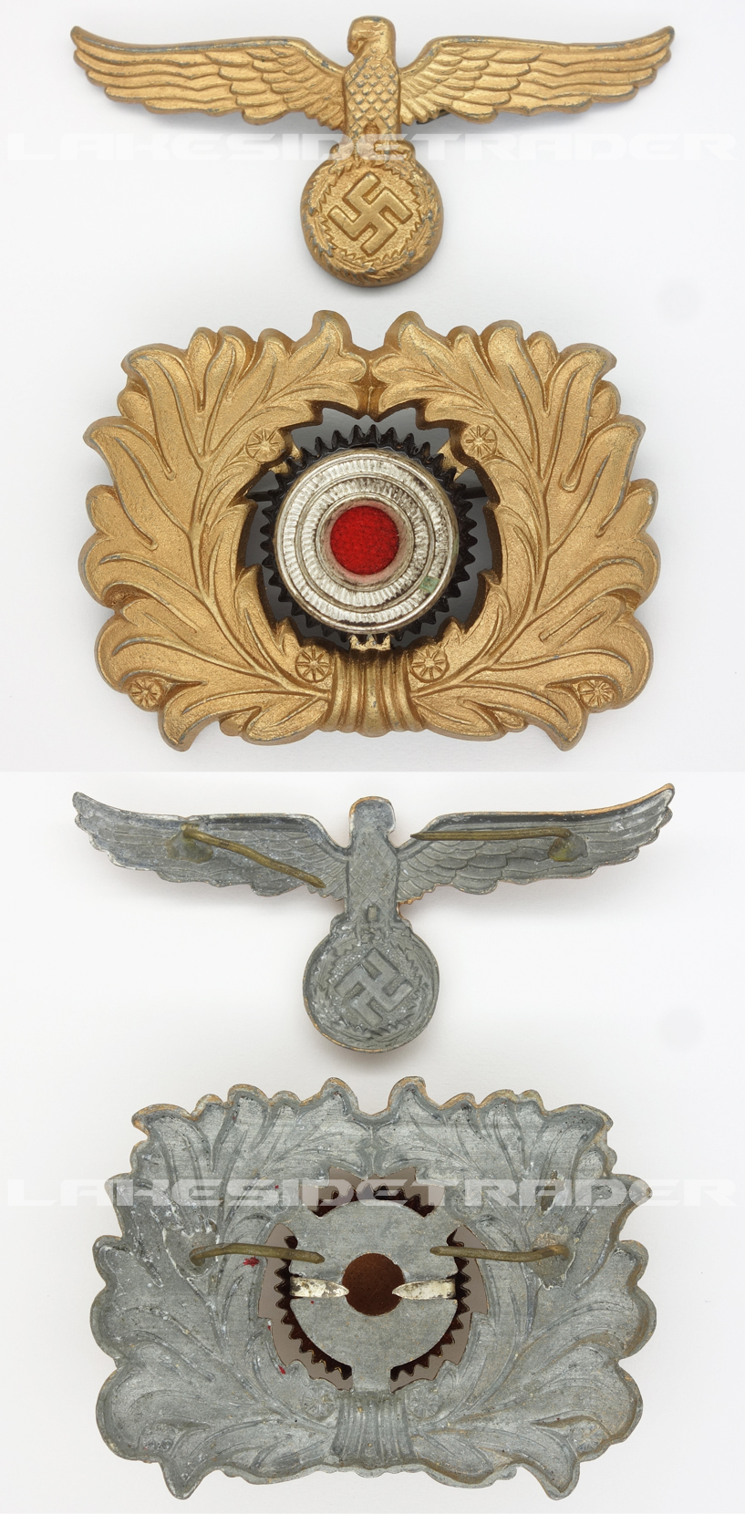 Sea Customs Officials Visor Cap Insignia