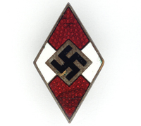 Hitler Youth Cap Badge