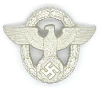 Police Visor Cap Badge