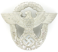 Police Visor Cap Badge