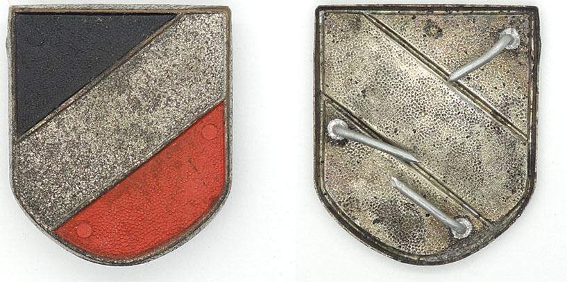 Pith Helmet Tri-Color Shield
