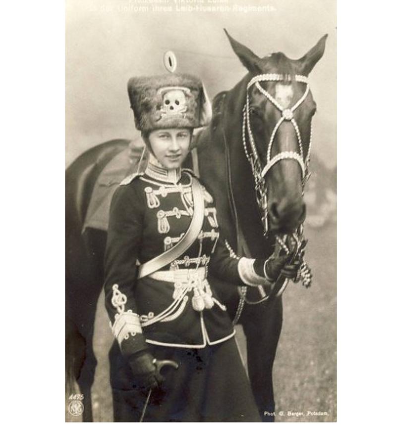 Imperial Prussian Hussars Cap Skull