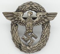 1st Pattern Police Cap Badge