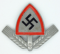 RAD EM/NCO Cap Badge 1938