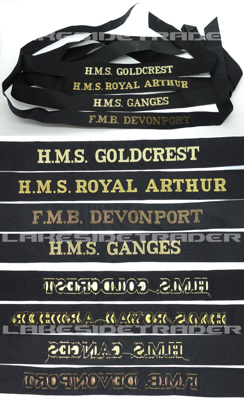 Royal Navy Cap Tallys