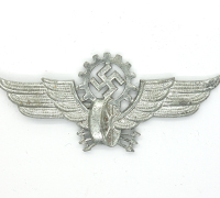Railway/DAF Visor Cap Badge