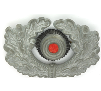Army EM/NCO Visor Cap Wreath and Cockade