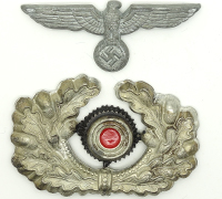 Army Visor insignia