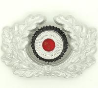 Army EM/NCO Visor Cap Wreath and Cockade