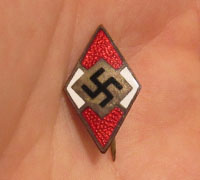Hitler Youth Visor/Cap Badge