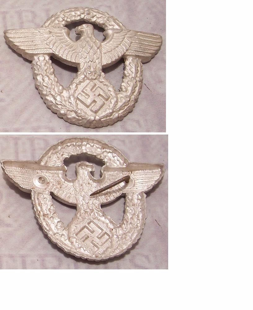 2nd Pattern Police eagle and wreath