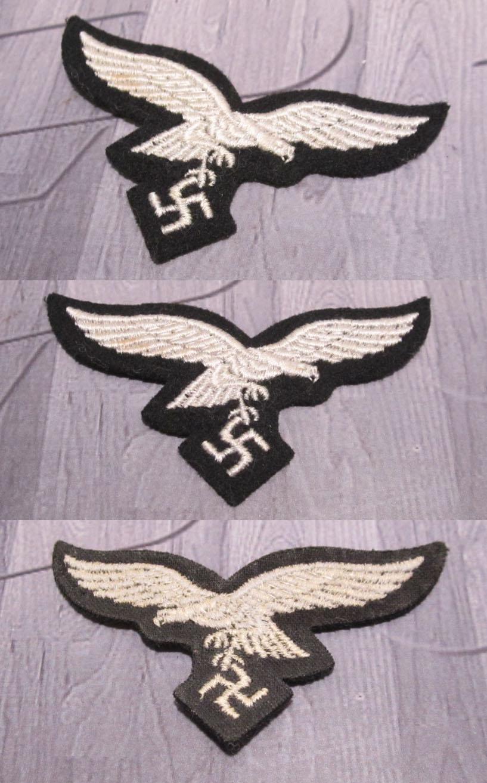 Luftwaffe Herman Goring Division Cap Eagle